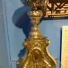 Silberleuchter (niedrig), um 1770-80