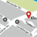 Standortkarte Kloster Saarn